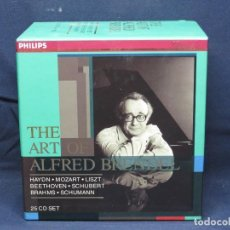 CDs de Música: THE ART OF ALFRED BRENDEL - 25 CD SET. Lote 206273053