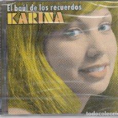 CDs de Música: KARINA - EL BAUL DE LOS RECUERDOS - DOBLE CD NUEVO Y PRECINTADO SUS EXITOS REMASTERIZADOS. Lote 206279470