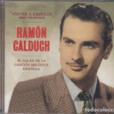 CDs de Música: RAMON CALDUCH - VOLVER A EMPEZAR - BEGUIN THE BEGUIN - CD NUEVO PRECINTADO. Lote 206279870