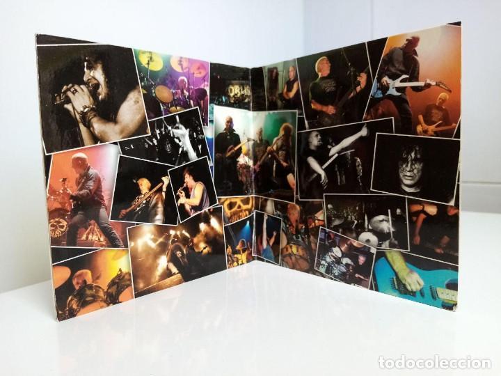 CDs de Música: Obús - Segundos Fuera. Primera edición. Gatefold. - Foto 4 - 206306311