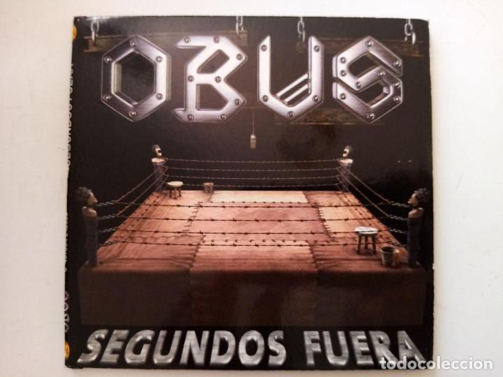 OBÚS - SEGUNDOS FUERA. PRIMERA EDICIÓN. GATEFOLD. (Música - CD's Heavy Metal)