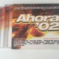 CDs de Música: AHORA 02 - 3CD CON ENCARTE CARLOS BAUTE PREZIOSO EIFFEL 65 LASGO HAMPENBERG BARTHEZZ MONICA NARANJO. Lote 206317833