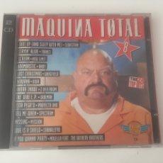 CDs de Música: MAQUINA TOTAL 8 - 2CD NEW LIMIT WHIGFIELD SPECTRUM CABBALLERO MOLELLA TRANCE. Lote 206318471