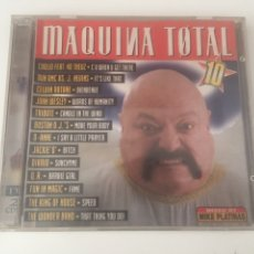 CDs de Música: MAQUINA TOTAL 10 - 2CD JOHN WESLEY BARBIE GIRL COOLIO SOUNDLOVERS DIARIO FIOCCO DJ MAX MUSIC. Lote 206318815