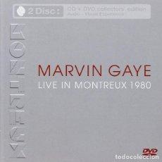 CDs de Música: MARVIN GAYE – LIVE IN MONTREUX 1980 CD+DVD NUEVO-PRECINTADO. Lote 206325032