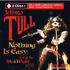 CDs de Música: JETHRO TULL ?– NOTHING IS EASY: LIVE AT THE ISLE OF WIGHT 1970 - CD. Lote 206327563
