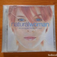 CDs de Música: CD NATURAL WOMAN (2 CD'S) - LEER DESCRIPCION (GÑ). Lote 206329176