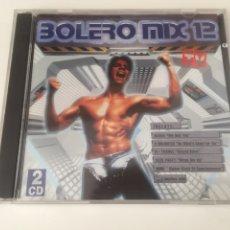CDs de Música: BOLERO MIX 12 - 2CD ALEXIA 2 UNLIMITED ALEX PARTY FAITHLESS TATJANA. Lote 206331300