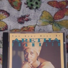 CDs de Música: THE VERY BEST OF ARETHA FRANKLIN. EDICION DE 1994 ALEMANA. Lote 206334832