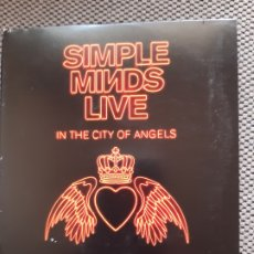 CDs de Música: SIMPLE MINDS. LIVE. IN THE CITY OF ANGELS. Lote 206340601