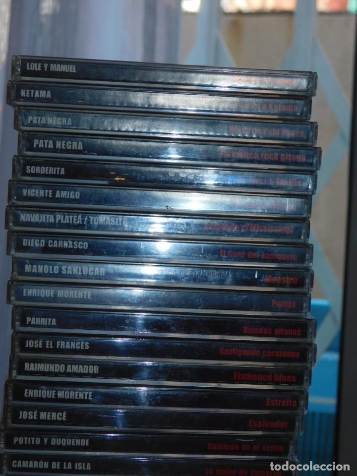 CDs de Música: LOTE DE 36 CDS AUTORES VARIOS *NUEVO FLAMENCO* ED. ALTAYA /SONY MUSIC. INF. 5 FOTOS DESCRIPTIVAS - Foto 4 - 206361187