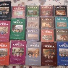 CDs de Música: LOTE.COLECCION.OPERA.EL MUNDO DE LA OPERA. 10 CDS Y 8 LIBROS.IMPECABLES. Lote 206361307