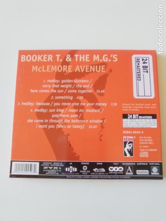 CDs de Música: BOOKER T & THE MGS McLemore Avenue ( 1970 STAX 2004 ) EXCELENTE ESTADO - Foto 2 - 206372913