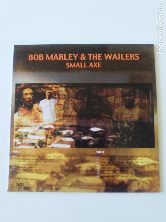 CDs de Música: BOB MARLEY & THE WAILERS Small axe ( 2019 DOL ) FUNDA CARTON REPLICA DISCO ORIGINAL - Foto 2 - 206373352