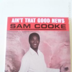 CDs de Música: SAM COOKE AINT THAT GOOD NEWS ( 1964 DOL 2019 ) FUNDA CARTON REPLICA DISCO ORIGINAL. Lote 206374411