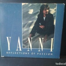 CDs de Música: CD. YANNI REFLECTIONS OF PASSION 1990 DIGIPACK. Lote 206376242