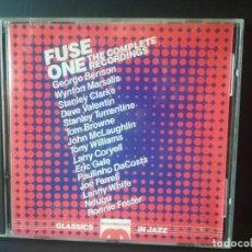 CDs de Música: FUSE ONE THE COMPLETE RECORDING GEORGE BENSON , TONY WILLIAMS , ERIC GALE CD ALBUM. Lote 206377808