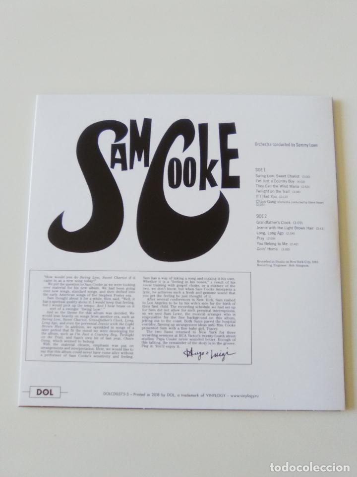 CDs de Música: SAM COOKE SC ( 1961 DOL 2019 ) FUNDA CARTON REPLICA DISCO ORIGINAL - Foto 2 - 206382428