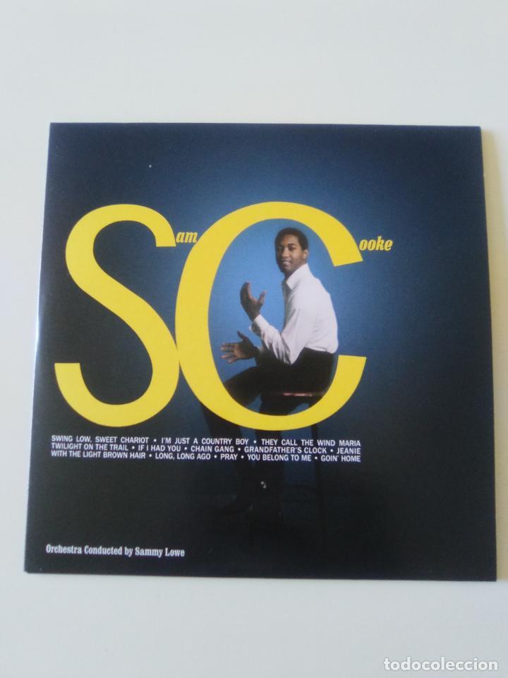 SAM COOKE SC ( 1961 DOL 2019 ) FUNDA CARTON REPLICA DISCO ORIGINAL (Música - CD's Jazz, Blues, Soul y Gospel)