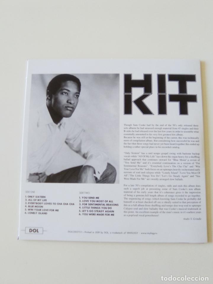 CDs de Música: SAM COOKE Hit Kit ( 1960 DOL 2019 ) FUNDA CARTON REPLICA DISCO ORIGINAL - Foto 2 - 206382560