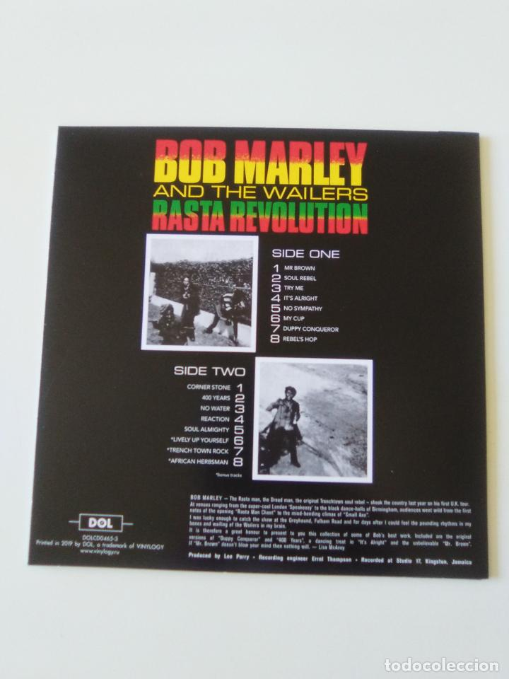 CDs de Música: BOB MARLEY & THE WAILERS Rasta Revolution ( 2019 DOL ) FUNDA CARTON REPLICA DISCO ORIGINAL - Foto 2 - 206382798