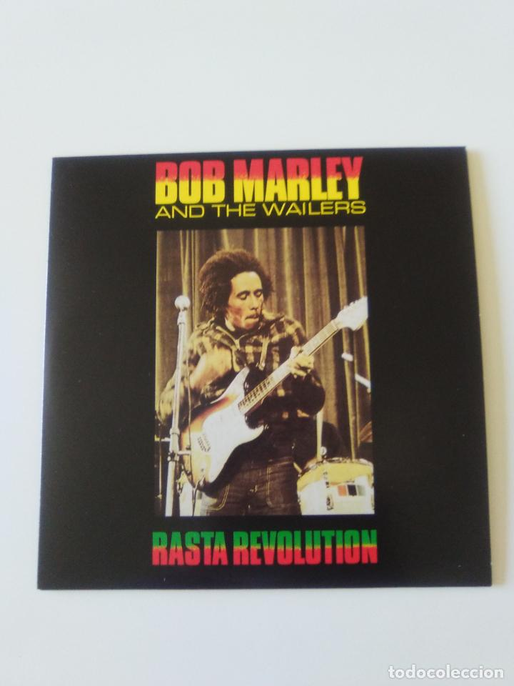 BOB MARLEY & THE WAILERS RASTA REVOLUTION ( 2019 DOL ) FUNDA CARTON REPLICA DISCO ORIGINAL (Música - CD's Reggae)