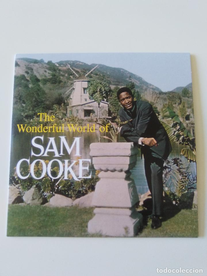 SAM COOKE THE WONDERFUL WORLD ( 1960 DOL 2019 ) FUNDA CARTON REPLICA DISCO ORIGINAL (Música - CD's Jazz, Blues, Soul y Gospel)