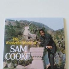 CDs de Música: SAM COOKE THE WONDERFUL WORLD ( 1960 DOL 2019 ) FUNDA CARTON REPLICA DISCO ORIGINAL. Lote 206382938