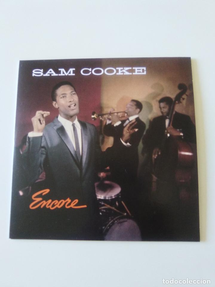 SAM COOKE ENCORE ( 1959 DOL 2019 ) FUNDA CARTON REPLICA DISCO ORIGINAL (Música - CD's Jazz, Blues, Soul y Gospel)