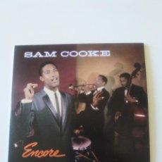 CDs de Música: SAM COOKE ENCORE ( 1959 DOL 2019 ) FUNDA CARTON REPLICA DISCO ORIGINAL. Lote 206383106
