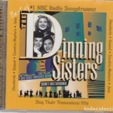 CDs de Música: THE DINNING SISTERS - THE BEST OF THE DINNING SISTERS - CD - SWING GRUPO VOCAL - TIPO ANDREW SISTERS. Lote 206388595