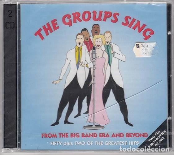 THE GROUPS SING - 52 GRANDES EXITOS - DOBLE CD - SWING GRUPO VOCALES BOSWELL SISTERS PIED PIPERS ETC (Música - CD's Jazz, Blues, Soul y Gospel)