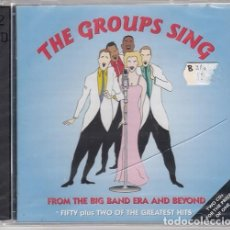 CDs de Música: THE GROUPS SING - 52 GRANDES EXITOS - DOBLE CD - SWING GRUPO VOCALES BOSWELL SISTERS PIED PIPERS ETC. Lote 206388996
