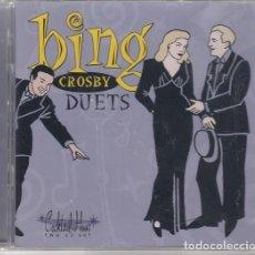 CDs de Música: BING CROSBY - DUETS - DOBLE CD NUEVO PRECINTADO MILLS BROS PEGGY LEE ANDREW SISTERS PATTY PAGE ETC. Lote 206389627