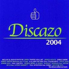 CDs de Música: CD DISCAZO 2004 CON 2 CDS EN BUEN ESTADO AQUITIENESLOQUEBUSCA ALMERIA. Lote 206392215