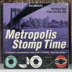 CDs de Música: METROPOLIS STOMP TIME - NORTHERN SOUL FROM THE BIG CITY - OFERTA 3X2 - NUEVO Y PRECINTADO. Lote 206392620