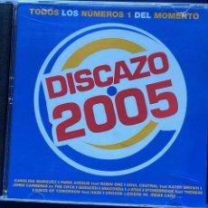 CDs de Música: CD DISCAZO 2005 CON 2 CDS COMO NUEVO AQUITIENESLOQUEBUSCA ALMERIA. Lote 206393221