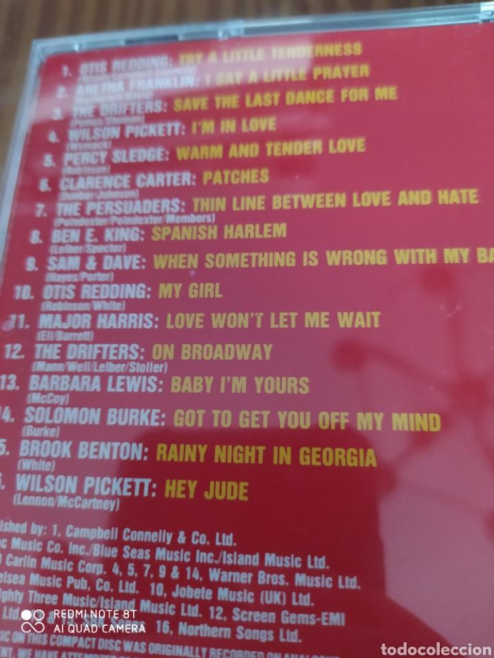 CDs de Música: Cd musica compilacion 16 HIT TRACKS ATLANTIC SOUL - Foto 2 - 206393771