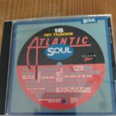CDs de Música: CD MUSICA COMPILACION 16 HIT TRACKS ATLANTIC SOUL. Lote 206393771