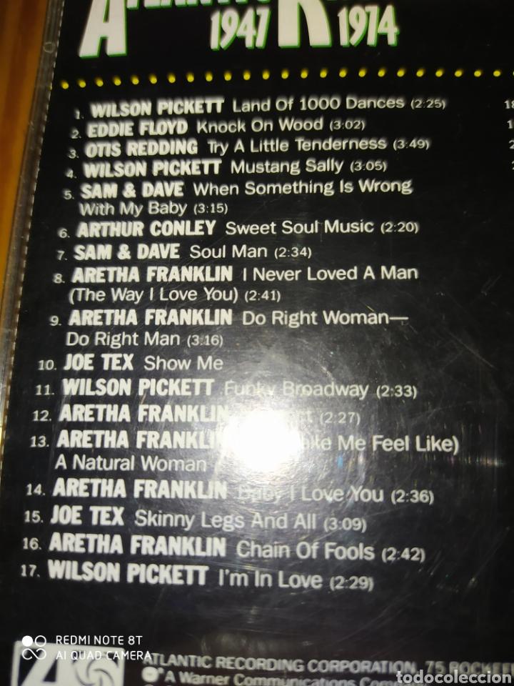 CDs de Música: Cd musica compilacion ATLANTIC RHYTHM AND BLUES 1947-1974 - Foto 3 - 206394908