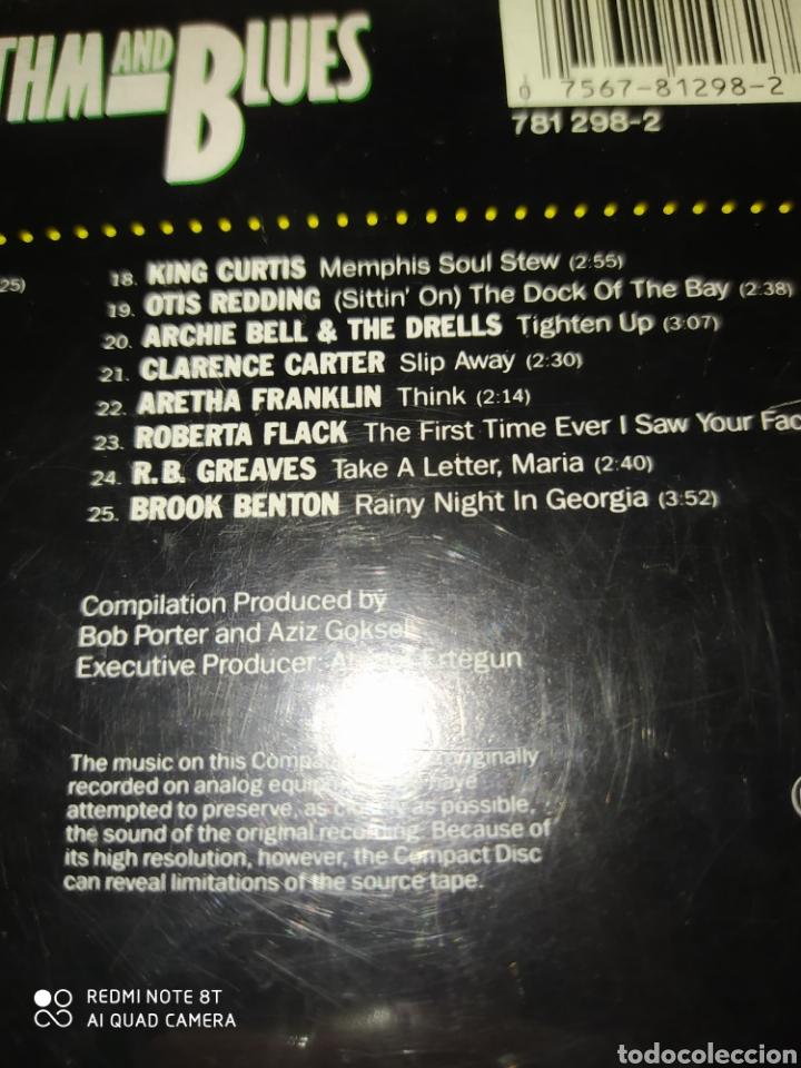 CDs de Música: Cd musica compilacion ATLANTIC RHYTHM AND BLUES 1947-1974 - Foto 4 - 206394908