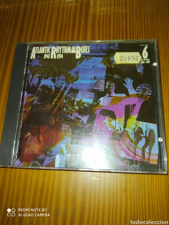 CD MUSICA COMPILACION ATLANTIC RHYTHM AND BLUES 1947-1974 (Música - CD's Jazz, Blues, Soul y Gospel)