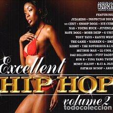 CDs de Música: EXCELLENT HIP HOP VOLUME 2- 3 CDS - OFERTA 3X2 - NUEVO Y PRECINTADO. Lote 206395128