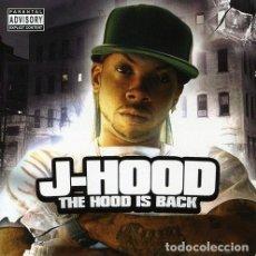 CDs de Música: J-HOOD – THE HOOD IS BACK - OFERTA 3X2 - NUEVO Y PRECINTADO. Lote 206396387