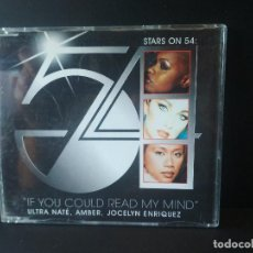 CDs de Música: STAR ON 54 IF YOU COULD READ MY MIND CD MAXI 5 TRACK. Lote 206407477