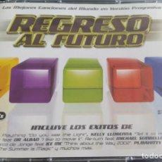 CDs de Música: REGRESO AL FUTURO (3XCD, COMP) (BLANCO Y NEGRO) MXCD 1261 (CD) CTV (D:NM/C:VG+). Lote 206411927