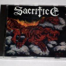 CDs de Música: CD SACRIFICE - TORMENT IN FIRE. Lote 206418537