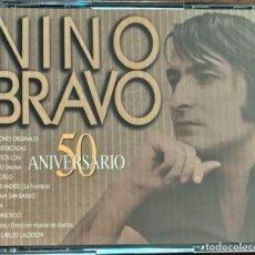 CDs de Música: NINO BRAVO-50 ANIVERSARIO (CD DOBLE). Lote 206423272