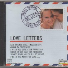 CDs de Música: BRUNO BERTONE - LOVE LETTERS / CD ALBUM DE 1988 / MUY BUEN ESTADO RF-5939. Lote 206424038