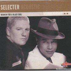 CDs de Música: SELECTER ACOUSTIC - REQUIEM FOR A BLACK SOUL / DIGIPACK CD ALBUM DEL 2004 / MUY BUEN ESTADO RF-5946. Lote 206424771